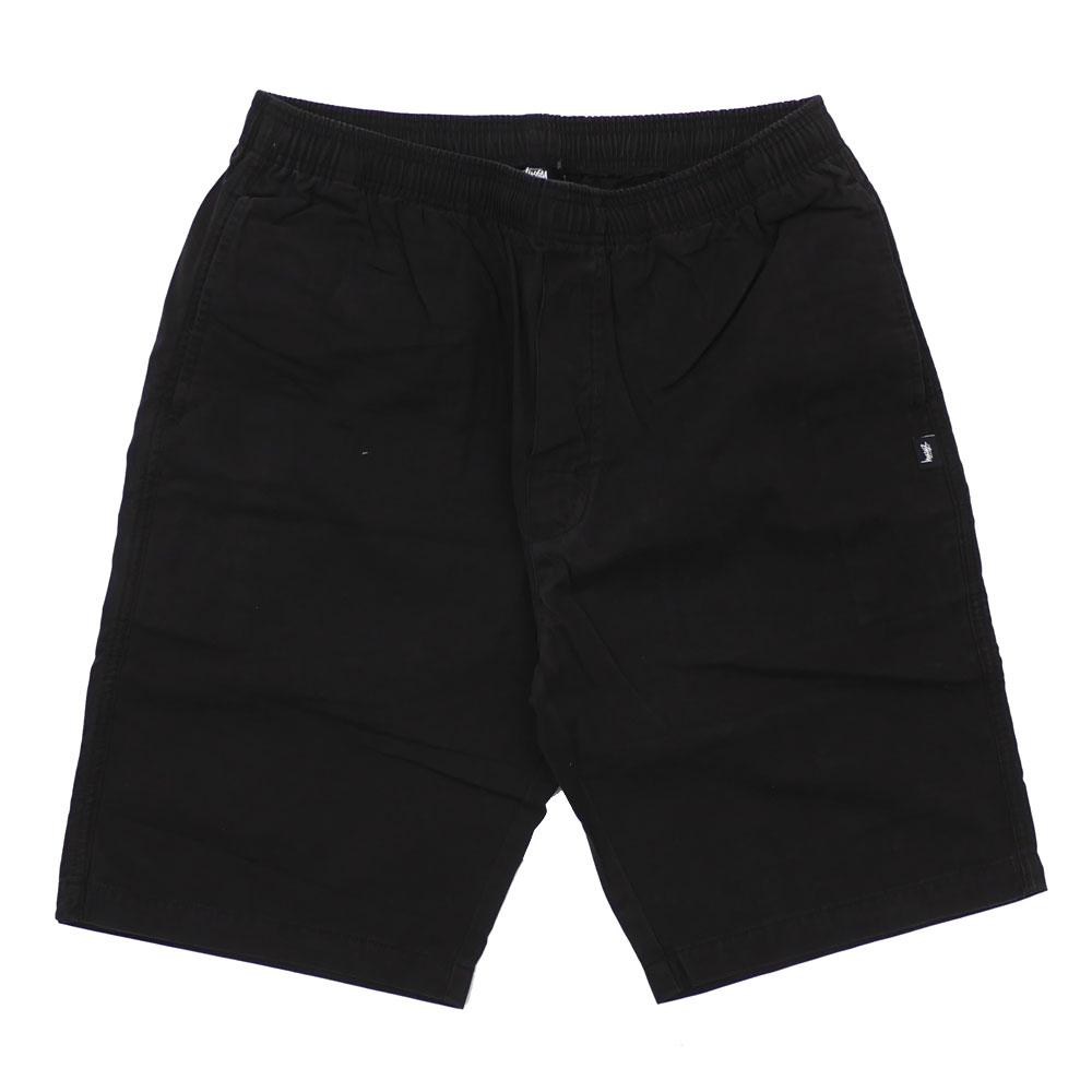 ステューシー STUSSY Brushed Beach Short ショーツ BLACK ブラック 黒 メンズ