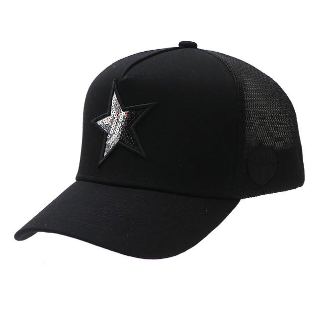 ヨシノリコタケ YOSHINORI KOTAKE 100%安心保証 当店取扱い商品は全て本物 正規商品 在庫一掃売り切りセール 新品 x バーニーズ ニューヨーク BARNEYS 激安超特価 STAR NEWYORK スパンコール 新作 MESH BLACK ブラック CAP メンズ キャップ 39ショップ