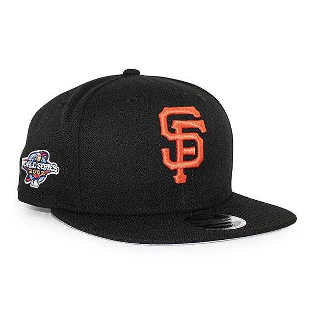 ニューエラ NEW ERA ea12394712 サンフランシスコ ジャイアンツ 9FIFTY ICON SNAPBACK CAP キャップ BLACK メンズ