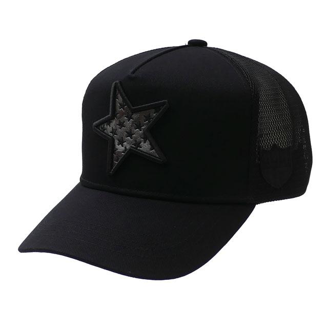 ヨシノリコタケ YOSHINORI KOTAKE 100%安心保証 当店取扱い商品は全て本物 正規商品 新品 x バーニーズ ニューヨーク BARNEYS NEWYORK BLACK MESH 開催中 注文後の変更キャンセル返品 ブラック STAR CAP キャップ メンズ 新作 LOGO METAL 黒