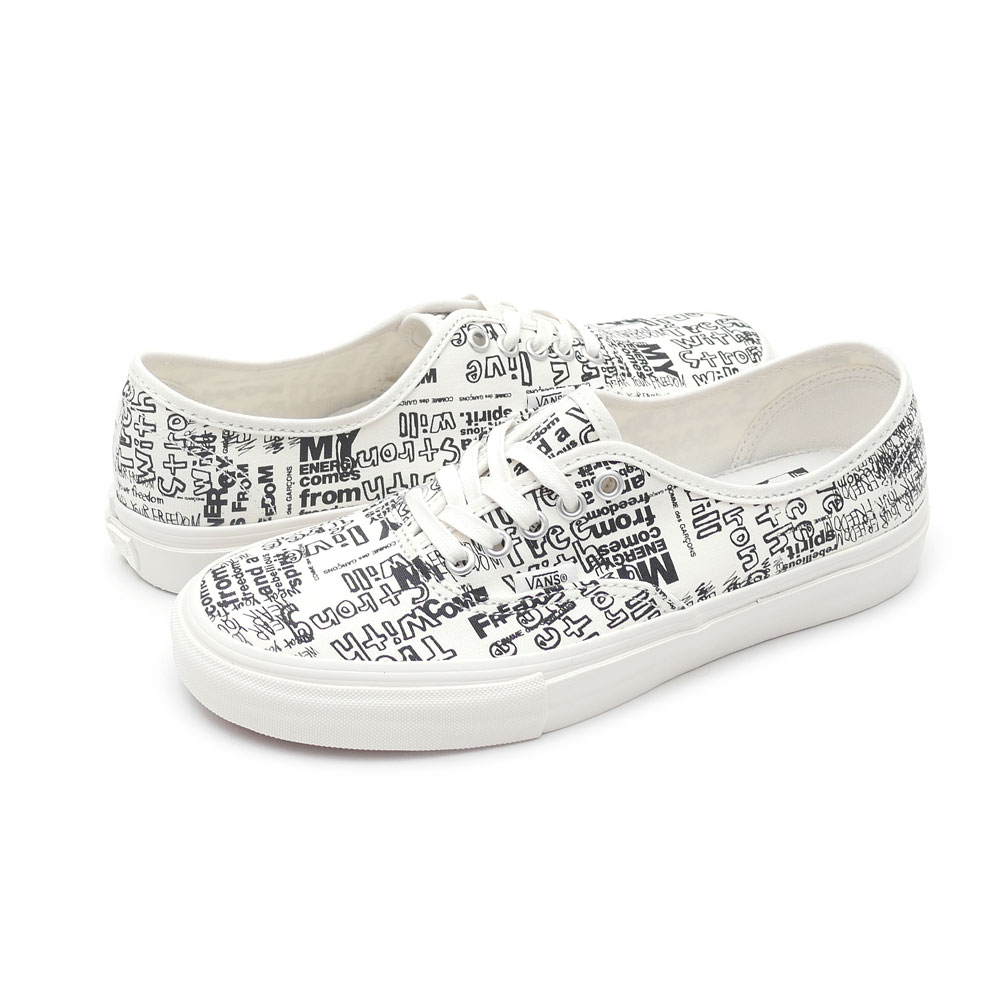 COMME des GARCONS(komudegyaruson)x VANS VAULT(卡车Wort)Authentic(确实)(运动鞋)(鞋)Blanc de Blanc/Mesg 291-002168-260