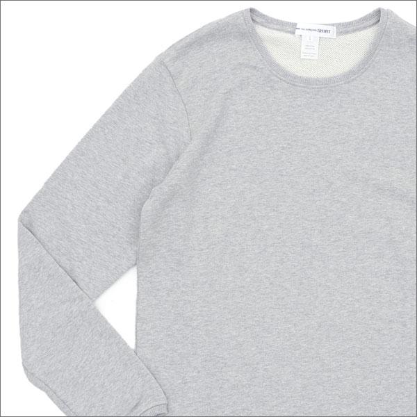 COMME des GARCONS SHIRT コムデギャルソン シャツ CREW SWEAT スウェット GRAY 209000489052x【新品】