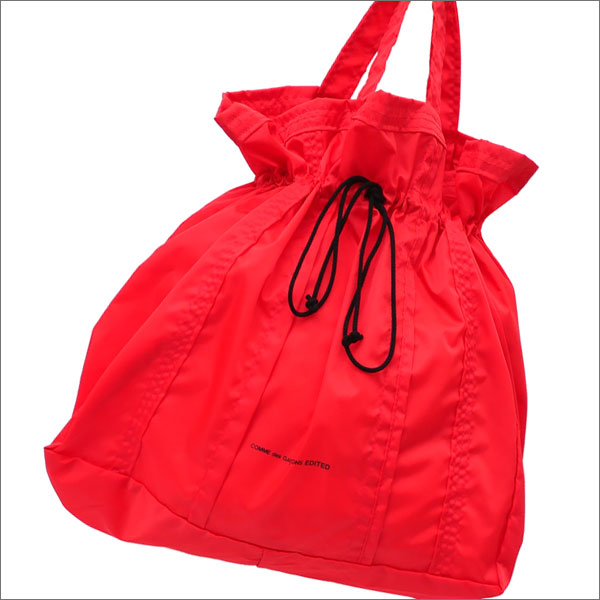 COMME des GARCONS EDITED コムデギャルソン エディテッド NYLON TOTE M トートバッグ RED 277002454043x【新品】