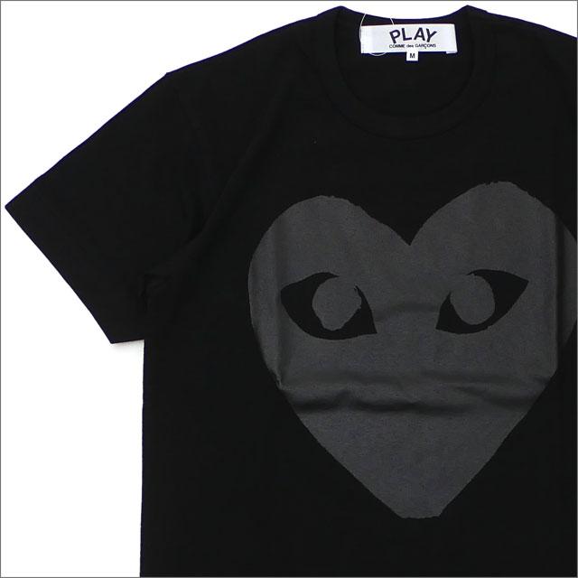 PLAY COMME des GARCONS プレイ コムデギャルソン MEN'S BLACK HEART TEE Tシャツ BLACK 200007901031+【新品】