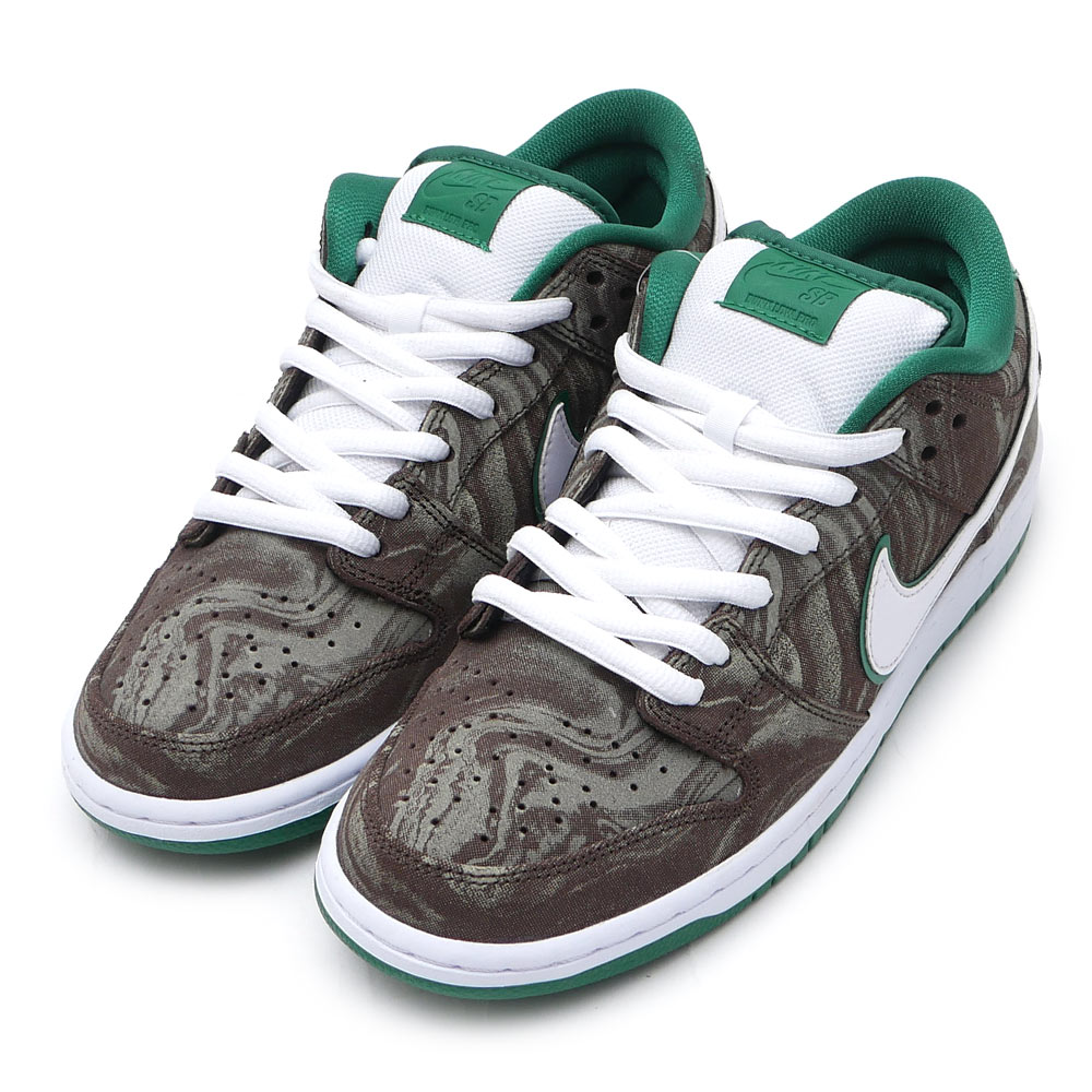 6ebf1fb9fbbe ... official nike sb nike s b dunk low premium sb dunk starbucks sneakers  shoe khaki white pine