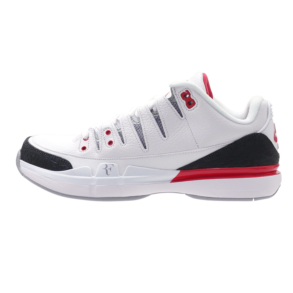 187a415166bcbd Nike Zoom Vapor RF X AJ3 Jordan Federer White Fire Red Black 709998-106  Clothing