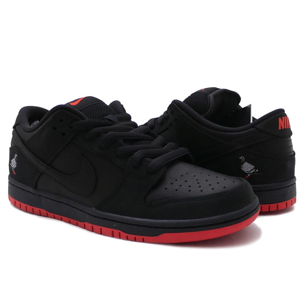 fdb0809f230d NIKE SB (Nike) (S B) DUNK LOW TRD QS PIGEON (dunk) (Pigeon) BLACK BLACK- SIENNA 883