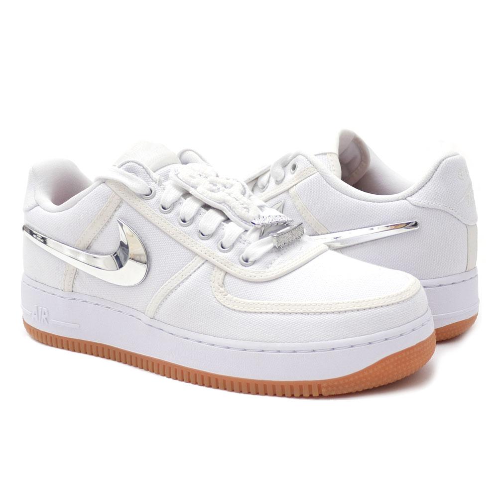 5d23027c8a8291 NIKE (Nike) AIR FORCE 1 LOW TRAVIS SCOTT (air force 1) WHITE WHITE-WHITE  AQ4211-100 291-002357-280