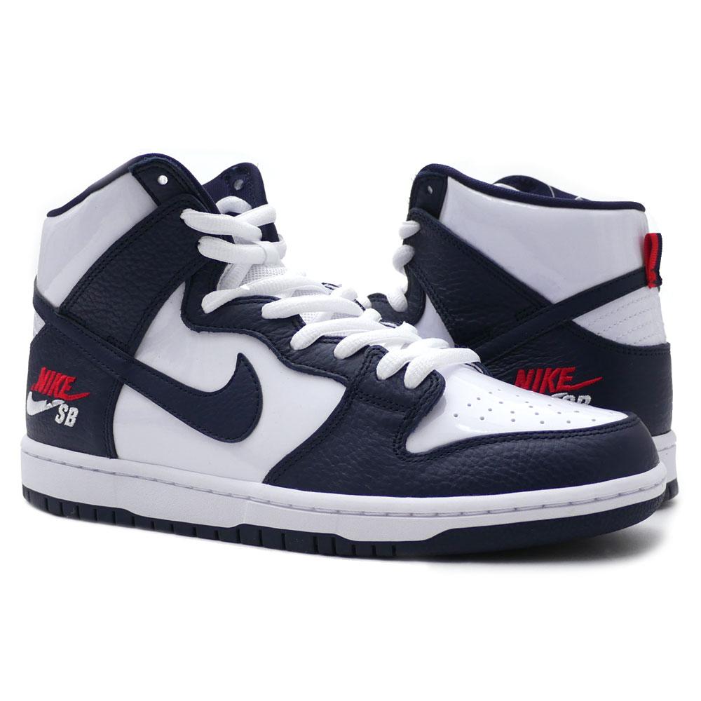6b371b4ebc8f NIKE SB (Nike) (S B) ZOOM DUNK HIGH PRO (dunk) OBSIDIAN OBSIDIAN-WHITE  854
