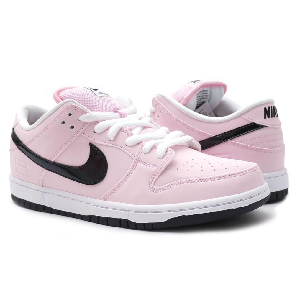free shipping 94178 de5b3 NIKE (Nike) DUNK LOW ELITE SB (dunk SB) PRISM PINKBLACK-WHITE 833,474-601  191-012116-273