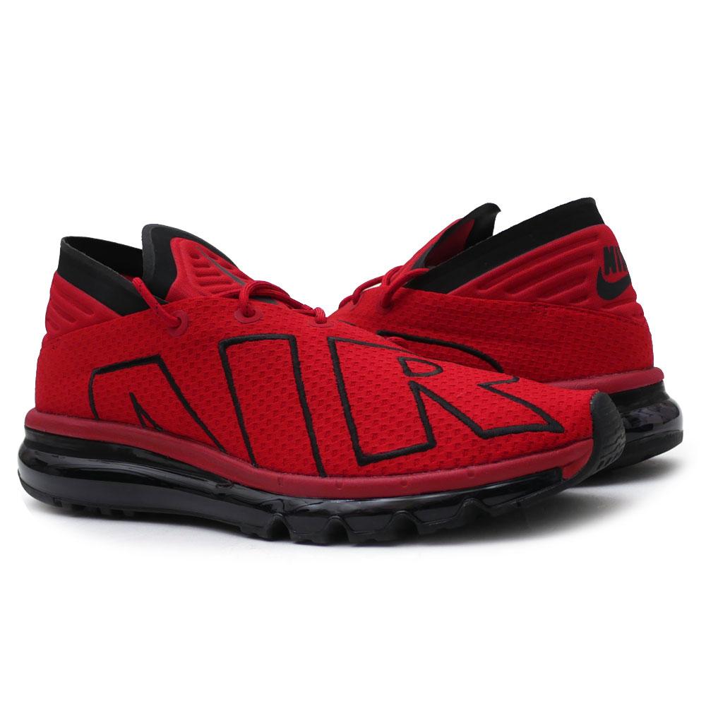 NIKE (Nike) AIR MAX FLAIR (Air Max) GYM REDWHITE BLACK 942,236 600 191 012169 303
