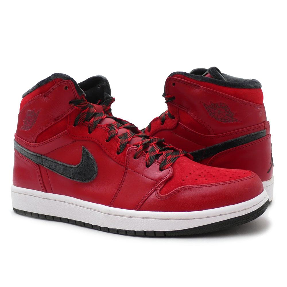10d1032d73d1 NIKE (Nike) AIR JORDAN 1 RETRO HI PREMIER (Air Jordan) VARSITY RED DARK  ARMY-WHITE 332