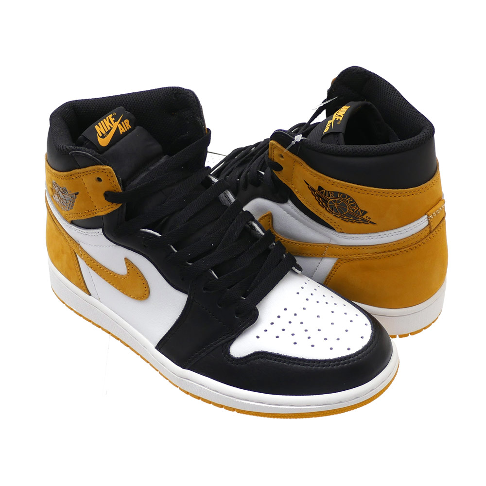 23efddb7368e NIKE (Nike) AIR JORDAN 1 RETRO HIGH OG (Air Jordan) SUMMIT WHITE YELLOW  OCHRE 555