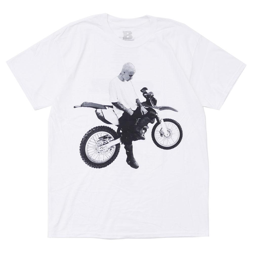 JUSTIN BIEBER ジャスティン・ビーバー BIKE BIEBER TEE 【Tシャツ】 WHITE 200007609040