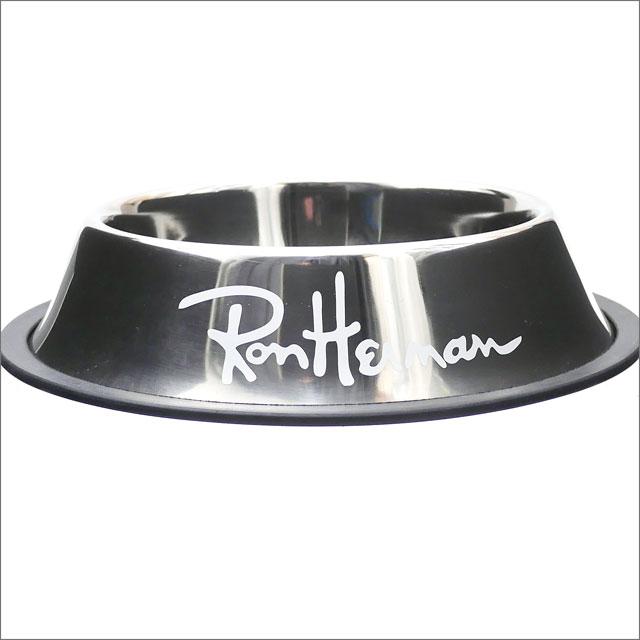 Ron Herman (LONDON HEARTS man) DOG BOWL M (dog bowl) SILVERxWHITE 290-004596-042x
