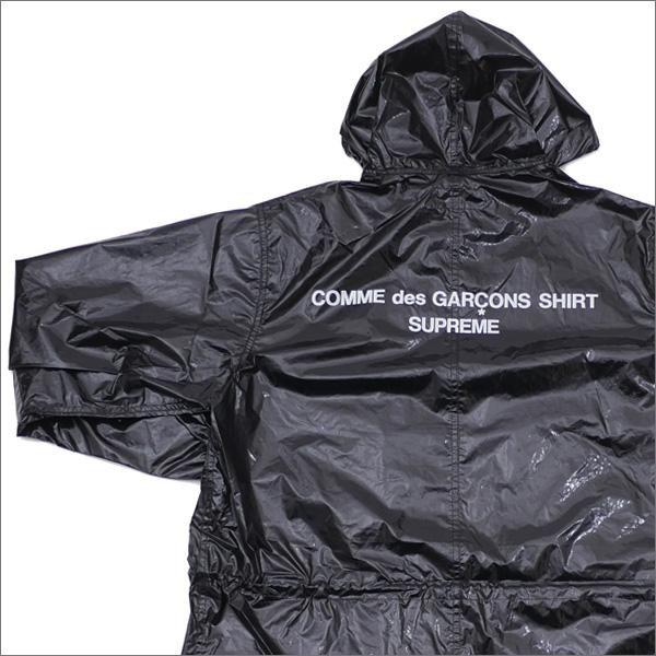 シュプリーム SUPREME x COMME des GARCONS SHIRT コムデギャルソン シャツ Fishtail Parka フィッシュテールパーカー BLACK 225000307141