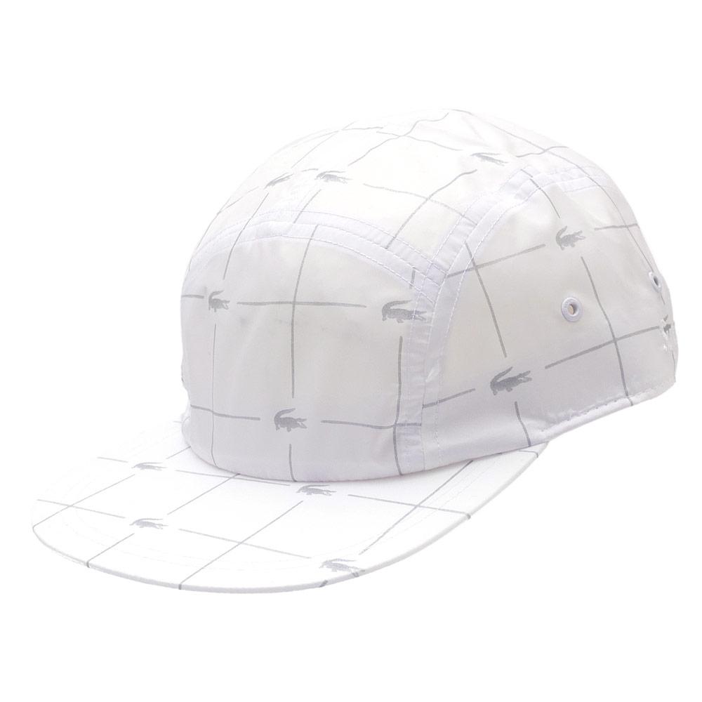 シュプリーム SUPREME Reflective Grid Nylon Camp Cap キャンプキャップ WHITE 265001033110+【新品】
