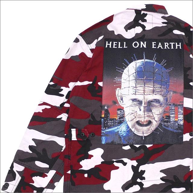 シュプリーム SUPREME BDU Shirt 長袖シャツ シャツジャケット RED CAMO 216001550143+【新品】