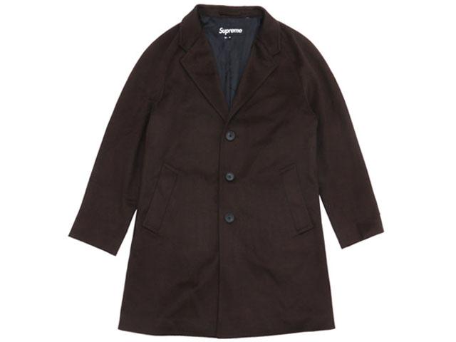 日本最大の シュプリーム SUPREME Overcoat Loro Wool Piana ロロ 530000890046・ピアーナ Wool Overcoat コート BROWN 530000890046:essense, 亀や和草:f8baedac --- nagari.or.id
