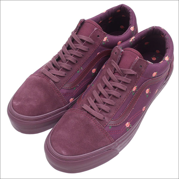 2864ca5421 It is BORDEAUX 291-002195-283 (sneakers) (shoes) VANS VAULT (vans Wort) x  UNDERCOVER (under cover) OLD SKOOL (old school)