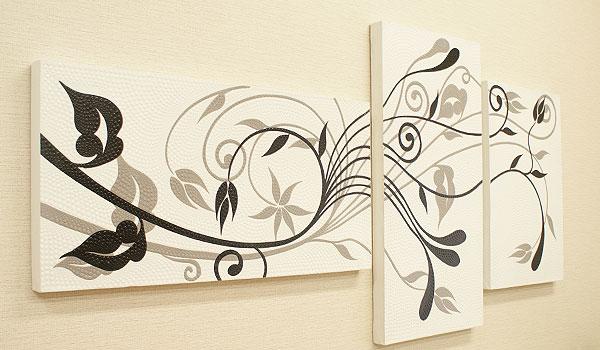 アートパネル バリ絵画 3連複合 ドットアート 01 おしゃれ アートパネル 3連 北欧 アート 壁掛け 絵画 インテリア モダン アジアン バリ