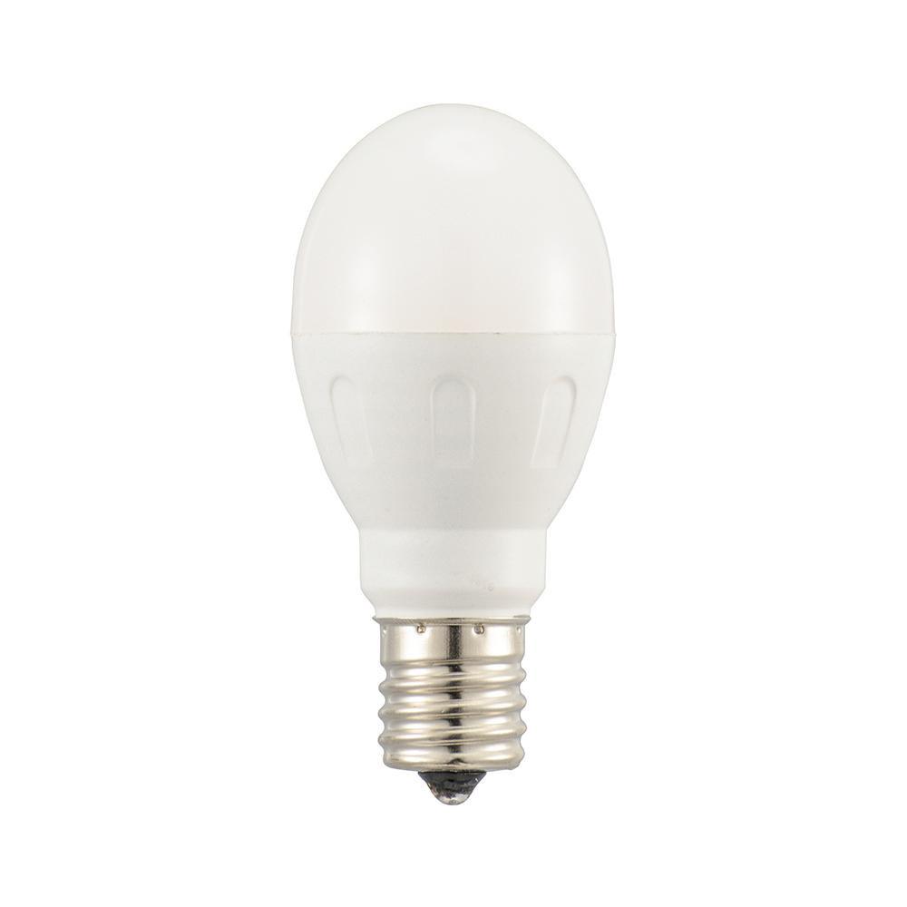 OHM LED電球 小形 記念日 E17 40形相当 同梱 数量は多 代引き不可 電球色 AS20 LDA4L-G-E17