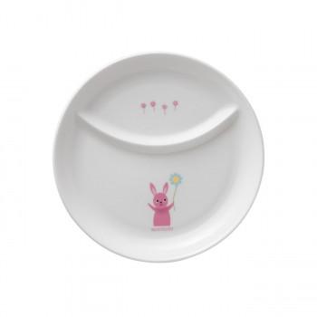 NIKKO ニッコー お値打ち価格で 子供食器 ひとりごはん皿 20.5cm 激安 激安特価 送料無料 アッコトト 支払い後の注文確定となります メーカー直送のため配送日時指定 ウサギ 代引不可※前払い決済は 同梱 8200R-4932