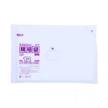 ジャパックス 再再販 LD規格袋厚口 厚み0.080mm No.12 透明 50枚×10冊×3箱 メーカー直送のため配送日時指定 L812 代引不可※前払い決済は 業界No.1 支払い後の注文確定となります 同梱