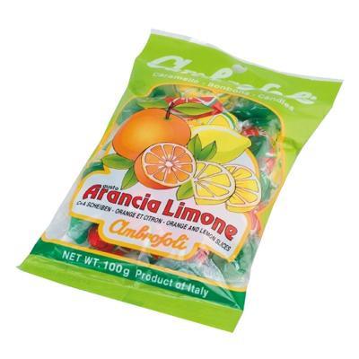 豊富な品 ambrosoli アンブロッソリー キャンディ オレンジ レモン 袋入 100g×12袋 メーカー直送のため配送日時指定 同梱 支払い後の注文確定となります 代引不可※前払い決済は 新作販売