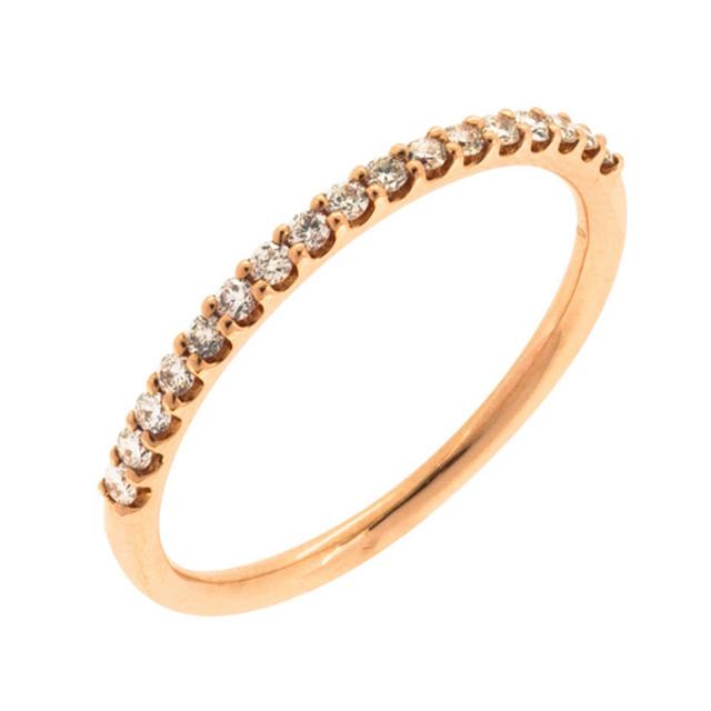 着後レビューで 送料無料 華奢でかわいいシンプル指輪は自分へのご褒美やプレゼントにも リング レディース ダイヤモンド シンプル かわいい K10 ピンクゴールド k10 ESTELLE エステール 贈り物 誕生日 アクセサリー ブランド 記念日 ギフト プレゼント ☆最安値に挑戦 ジュエリー