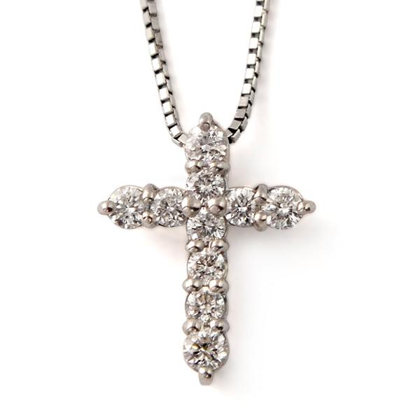 ネックレス レディース ダイヤモンド プラチナ 0.5カラット 【 ESTELLE エステール 】