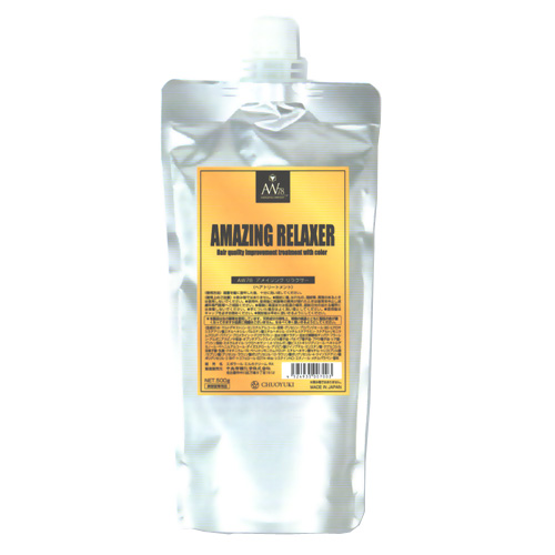 業務用 AW78 アメイジング リラクサー 500g Amazing Relaxer 500g, at the same time with coloring & hair volume down caused by damaged hair