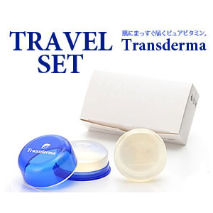 Transderma travel set SOAP 30 g (2pcs)