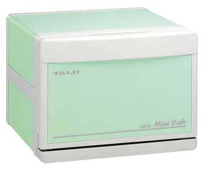 TAIJI MINI CABIN HC-6【電気タオル蒸し器,グリーン】 タイジ ホットキャビ 【10P17Apr01】