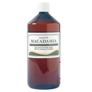 100%マカダミアナッツオイル 【キャリアオイル マカダミア油】 1000mL マッサージオイル 【10P17Apr01】
