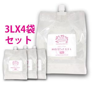 モアナチュリーモイストcfジェル3kg×1袋美容成分配合のキャビ&フラッシュジェル、業務用超音波ジェル