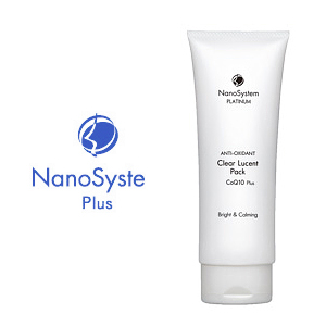 NanoSystem Nano clear, Lucent, Q10 / tanning / skin clarity 10P01Nov14, Pack 120 g / Platinum / facial Pack
