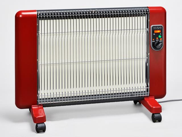 遠赤外線輻射式セラミックヒーターサンラメラヌーボー SL-610/ボルドーレッド(BR)シリーズ累計35万代以上の販売実績!!送料無料
