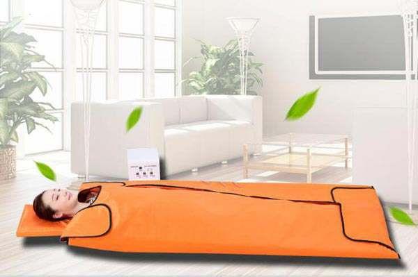 遠赤外線寝袋サウナ S-104家庭用/業務用寝袋サウナ 送料無料