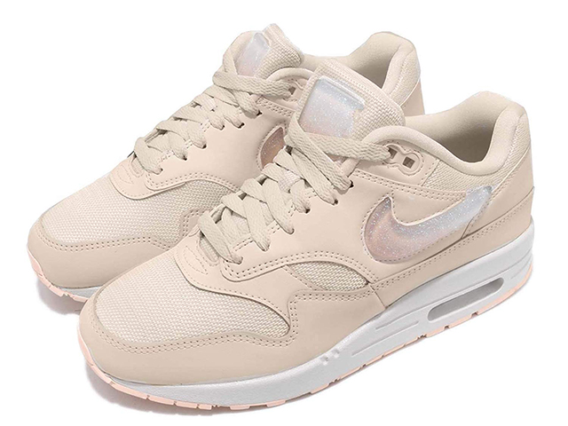 NIKE WMNS AIR MAX 1 JP Nike women Air Max 1 JP Lady's running shoes Peer ivory PALE IVORYSUMMIT WHITE GUAVA ICE 19 03 020