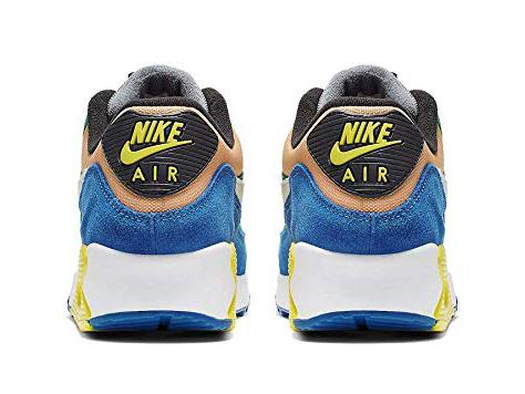 NIKE AIR MAX 90 QS Kie Ney AMAX 90 QS running shoes rainbow Rainbow color 19 08 082