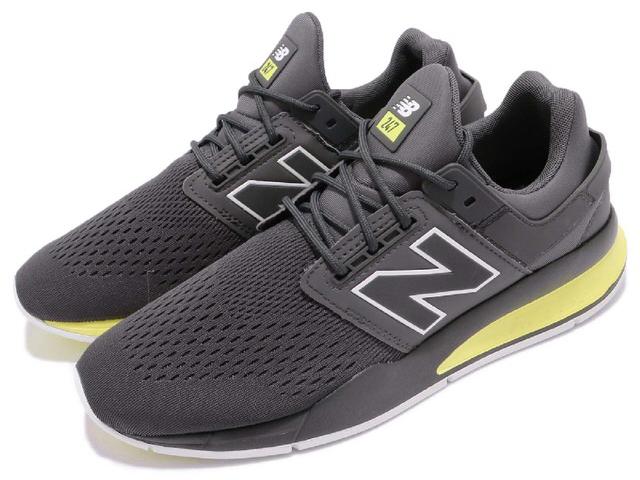 New Balance ニューバランス MS247TGGrey Yellow