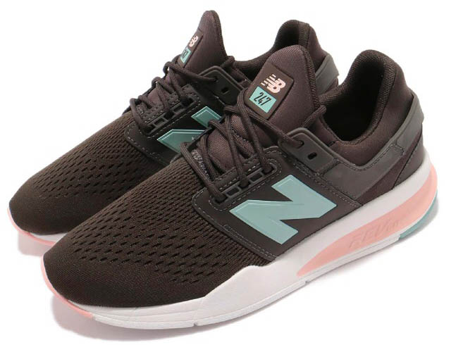 New Balance ニューバランス WS247FDBrown Blue Pink