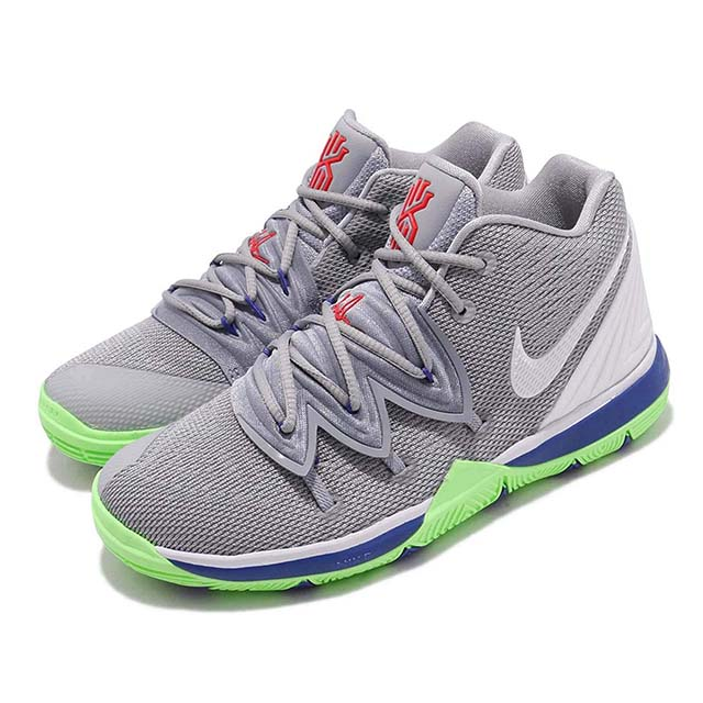 NIKE KYRIE 5 PS ナイキ シューズWOLF PS カイリー 5 19-06-309 PS キッズ バスケットボール シューズWOLF GREY/WHITE-LIME BLAST 19-06-309, クマガヤシ:16271292 --- ww.thecollagist.com