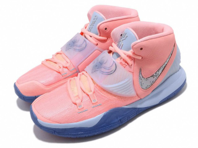 NIKE KYRIE VI CNCPTS EP【KYRIE IRVING】【カイリー・アービング】ナイキ カイリー 6 コンセプツ EP メンズ バスケットボール シューズピンク PINK TINT/GUAVA ICE
