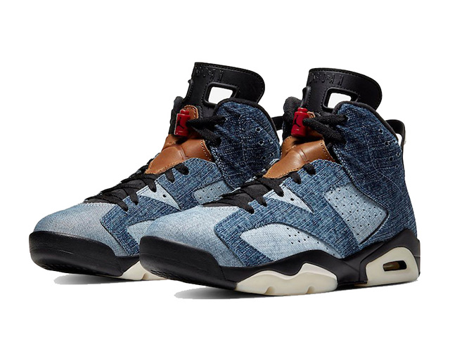 NIKE AIR JORDAN VI RETRO【WASHED DENIM】ナイキ エア ジョーダン 6 レトロ WASHED DENIM/BLACK-SAIL