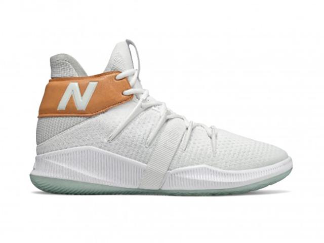 限定モデル 人気激安 レディースキッズ Wタイプ モデル NEW BALANCE OMN1S GBOMN1TS 白茶 カワイ 国産品 LEONARD KAWHI レナード ウィメンズバスケットボール シューズ Wニューバランス