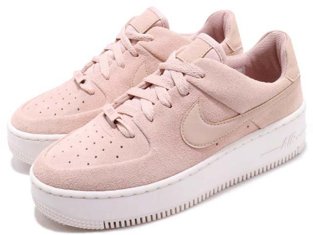 NIKE AIR FORCE 1 SAGE LOWナイキ エア フォース 1 セージ ロー レディースシューズPARTICLE BEIGE/PARTICLE BEIGE