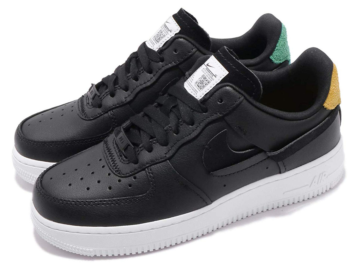 Best price on the market at italist | Nike Wmn's Air Force 1 '07 Lux blackanthracite mystic Green