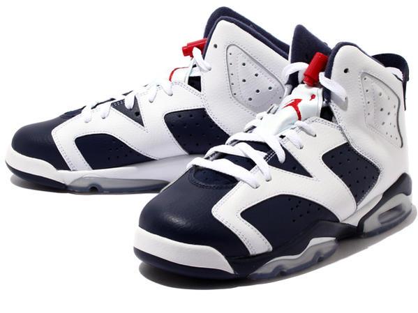 new product d6d57 d3b85 NIKE AIR JORDAN 6 RETRO GS Nike Air Jordan 6 retro GS Navy blue white